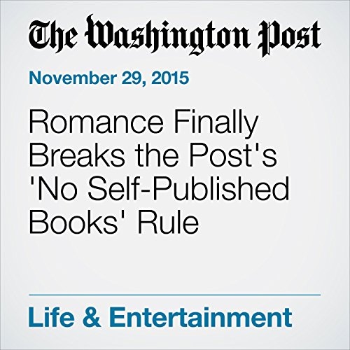 Romance Finally Breaks the Post's 'No Self-Published Books' Rule cover art