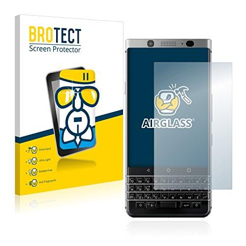 BROTECT Panzerglas Schutzfolie kompatibel mit BlackBerry Keyone - AirGlass, extrem Kratzfest, Anti-Fingerprint, Ultra-transparent