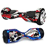 MightySkins Carbon Fiber Skin for Ultra Hoverboard - Red Camo | Protective, Durable Textured Carbon Fiber Finish | Easy to Apply,...