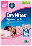 drynites 4-7 Die Nachthöschen von Dry-Nites haben 5 saugfähige Schichten gegen Einnässen und besitzen eine spezielle Schutzzone extra für Mädchen.