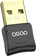 USB Bluetooth Dongle, QGOO Bluetooth 4.0 Adapter for PC Laptop Computer Desktop Stereo..