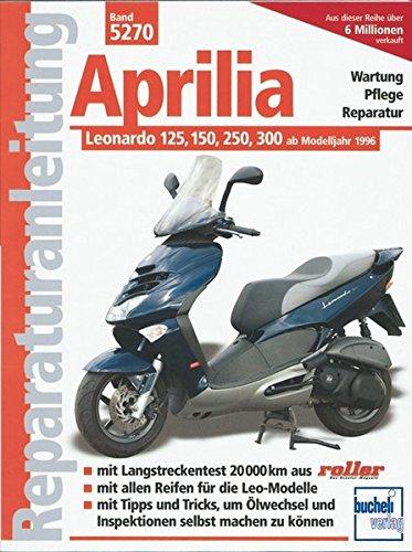 Aprilia Leonardo 125, 150, 250, 300: Ab Modelljahr 1996