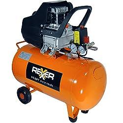 Druckluftkompressor 1500 W 2,0 PS 50 Liter Kompressor mit Öl Druckluft Werkstatt