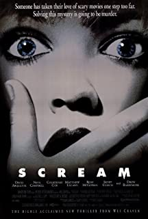Scream - 1996 - 11 x 17 Movie Poster - Style B by Movie Posters