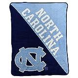 The Northwest Company UNC Tar Heels 'Halftone' Micro Raschel Throw Blanket, 46' x 60' , Blue