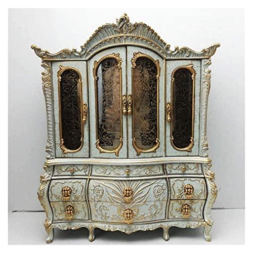 TEAYASON Caja organizadora de joyas vintage con cajones bailarina musical caja de joyería para niñas y amperio; regalo para niñas y mujeres, caja de joyería D