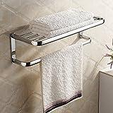 <span class='highlight'>Hiendure</span>®<span class='highlight'>Brass</span> <span class='highlight'>Wall</span>-<span class='highlight'>mounted</span> <span class='highlight'>Towel</span> Rack Hanger Holder Organizer Bar Bathroom <span class='highlight'>Towel</span> Shelf (23