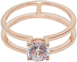 Esprit Lillian Ring for Women - Rose Gold (18 mm)