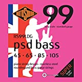 Rotosound Stainless Steel Contact Core Standard Gauge Roundwound Bass Strings (45 65 85 105)