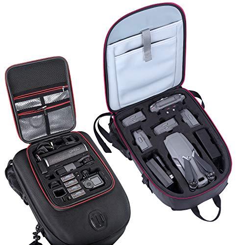 Smatree Rucksack für DJI Mavic 2 Pro/Zoom und DJI OSMO Pocket 2/ Pocket 1 und DJI OSMO Action/GoPro Hero 9/8/7/2018/6/5/4/3 + / 3/2/1 (Drohne, Kameras und Zubehör sind Nicht Enthalten)