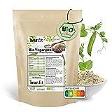 nur.fit by Nurafit BIO Veganer Protein Mix 1 kg – Reisprotein & Erbsenprotein Mischung – pflanzliches Protein Pulver mit 84% Eiweiß – ideales Aminosäurenprofil mit 70 / 30 Verhältnis