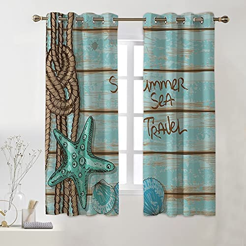 Yunine Blackout Curtains for Living D Kitchen NEW before selling ☆ Bedroom Hand Room Recommended