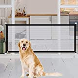 Magic Pet Safety Gate Barrera de Seguridad para Mascotas Por