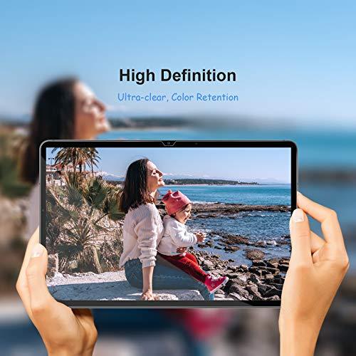 Gerutek [2 Stück Schutzfolie für Samsung Galaxy Tab A7 10.4, 9H Härte, 2.5D, Hülle Freundllich Anti-Kratzen, Anti-Bläschen Displayfolie Schutzglas Displayschutz für Samsung Tab A7 10.4 T500/T505/T507