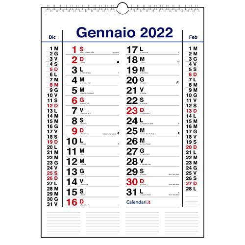 Calendario 2022 Olandese da muro (A3-30x42 CM - CLASSICO)