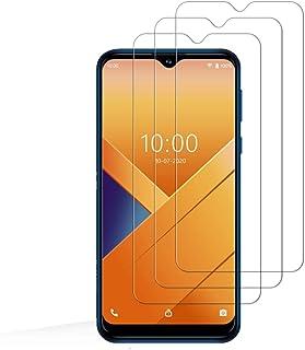 E-Hamii [3-pack 9H härdat okrossbart glas kompatibelt med Wiko Y81, [HD kristallklar] 0,33 mm skärmskydd för Wiko Y81