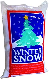 FloraCraft Faux Snow 4 Liters White