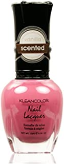1 KLEANCOLOR #316 VANILLA SCENTED NAIL POLISH LACQUER + FREE EARRING