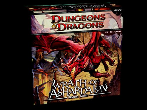 Dungeons & Dragons D&D Tablero: Wrath of ASHARDALON Juego en ingl
