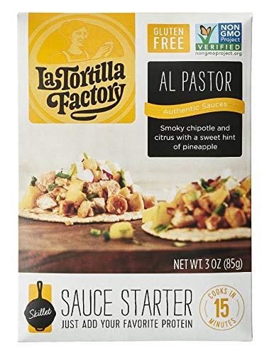 La Tortilla Factory Al Pastor Skillet Sauce Starter, 3-Ounce, 8 Packages
