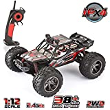 VATOS 1/12 RC Truks Off Road Remote Control Cars Rechargable 2.4GHz...