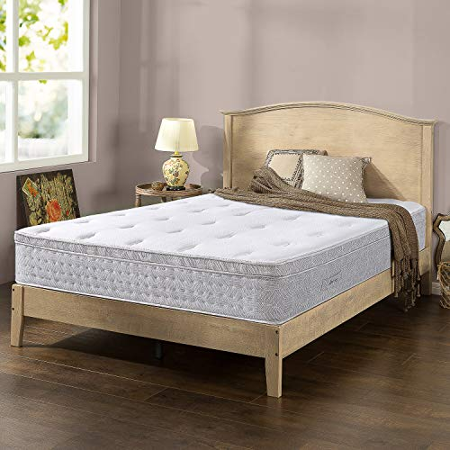ZINUS Italian Made 12-inch Pocket Spring Hybrid Mattress King for 223.00