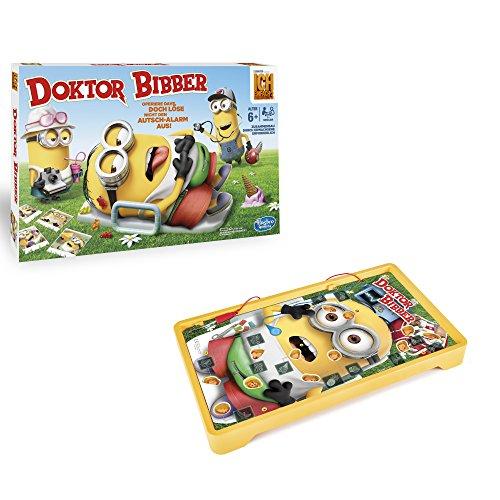 Hasbro Spiele C1342100 - Dr. Bibber Minions, Kinderspiel