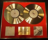 GOLD RECORD Celine Dion//Double CD/Ed/COA Falling Into You et One Heart