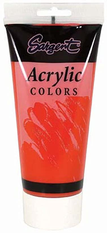 Sargent Art 23-0436 200-Millilitre Tube Acrylic Paint, Scarlet Lake