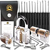 Stainless Steel Multifunctional Pick Tool,Professional 17 Piece Set