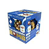 Hot Chocolate Melting Bomb with Mini Marshmallows Inside, Stocking Stuffer for Kids, 1.6 Ounce