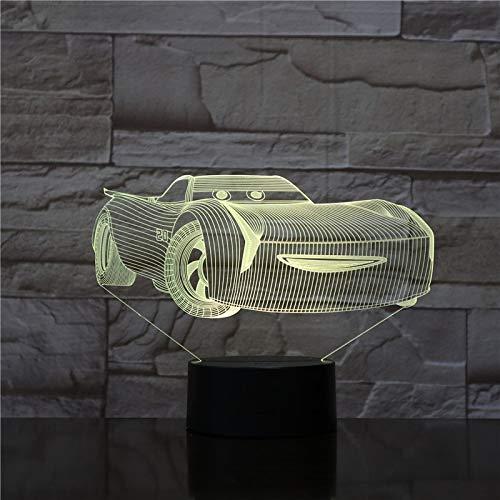 Kühle Auto Touch Fernbedienung nachtlicht Stereo acryl Panel esstisch Dekoration Farbwechsel Schlafzimmer Lampe