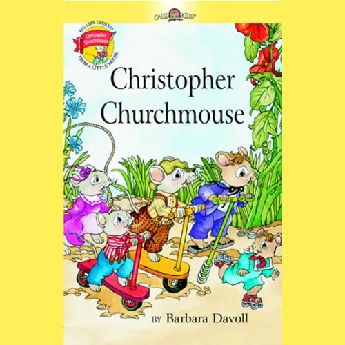 Christopher Churchmouse audiobook cover art