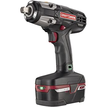 "Craftsman C3 ½"" Heavy Duty Impact Wrench Kit Powered By 4ah XCP Cordless Tools High Torque"