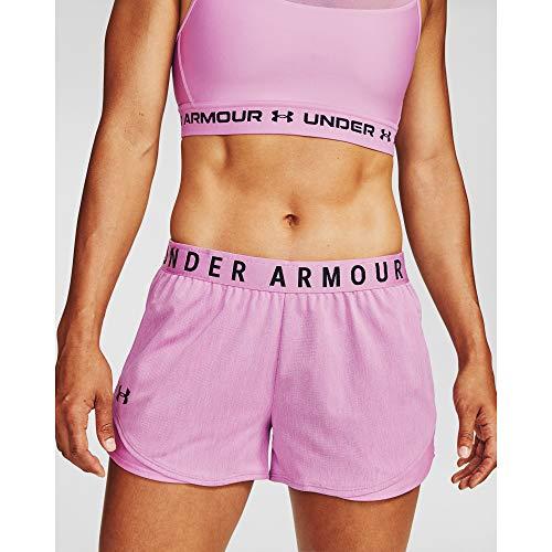 Under Armour Play Up 3.0 Twist - Pantalones cortos para mujer - 1349125, Play Up Short 3.0 - Giro, XL, Púrpura Polar (537)/Negro
