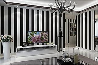 d12d041356f Yosot Simple Y Moderna En Blanco Y Negro A Rayas Salón Dormitorio Papel  pintado Barber Shop