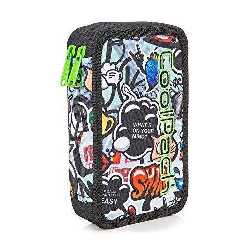 Cool Pack A66201 Unisex Kids' Backpack Handbag, Multicolour (Multicolor 000), 8x10x20 centimeters (W x H x L)