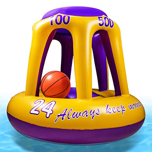 (35% OFF) Floating Pool Basketball Hoop  $25.33 – Coupon Code