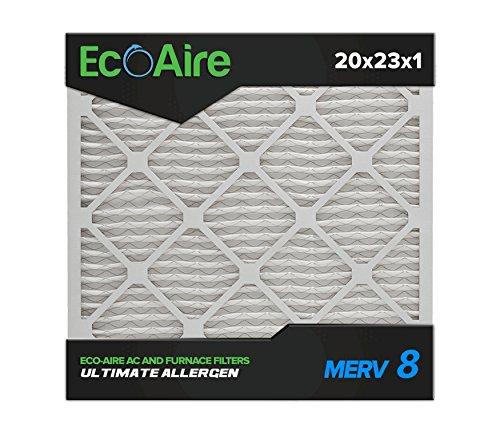 20 x 23 x 1 MERV 8 Pleated Air Filter, Box of 6