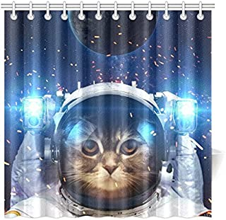 Best cat in space shower curtain Reviews