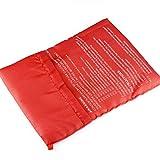 Ruluti 1pcs Nuevo Rojo Lavable Olla Bolsa De Patatas Horno De Microondas Cocinar Patata Quick Cocineros Fast 4 Patatas a La Vez