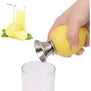 Majome en Acier Inoxydable Manuelle Citron Juicer Squeezer