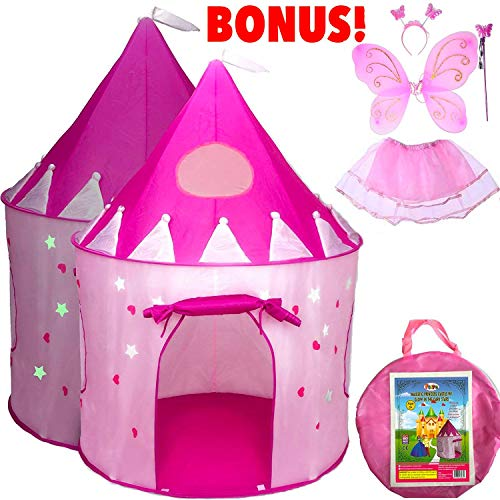 5-Piece Princess Castle Girls Pop Up...