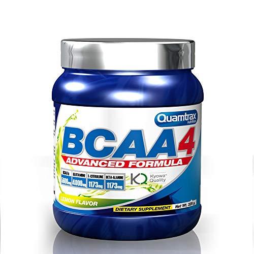 Quamtrax Nutrition Bcaa 4, Sabor Limón - 325 gr