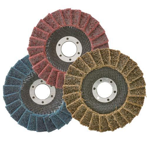 AAAbrasives 4-1 2x7 8 T-27 Medium 10 Pcs P Disc Maroon New product! New type Flap 25% OFF