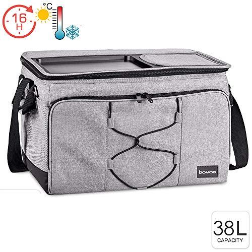 bomoe Kühltasche faltbar IceBreezer KT43 - Outdoor Kühlbox für unterwegs - 43x32x28 cm - 38 Liter - Auch als Picknicktasche nutzbar - Perfekt fürs Grillen oder Festival