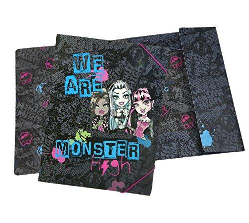 Undercover mhcp0300 – Monster High Chemise à élastique, A4