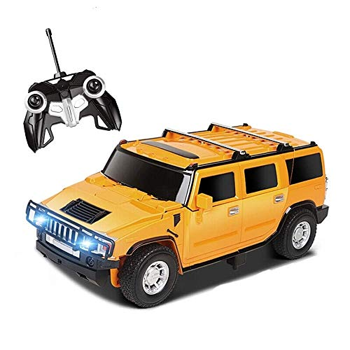 Purchase Woote One Touch Transforming RC Transformation Robot Car Remote Control Deformation Figure ...