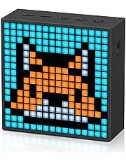 Divoom Timebox EVO Pixel Art Led Bluetooth-Luidspreker App Control, Slimme Draagbare Draadloze Speaker Met Krachtige Bas, Ondersteunt Wekkerradio, Microfoon (zwart)