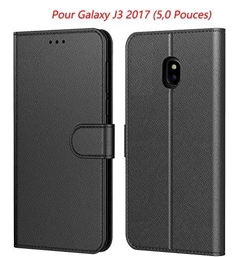 puissant Etui Tenphone pour Samsung Galaxy j3 2017 (J330), étui de protection en cuir…